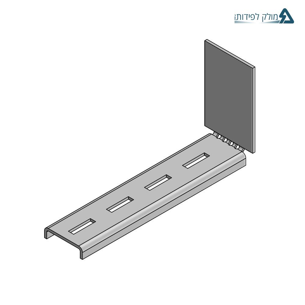 Electrical insulator – screening comunication cable tray