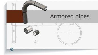 Armored pipe