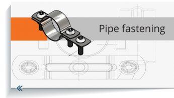 Pipe fastening